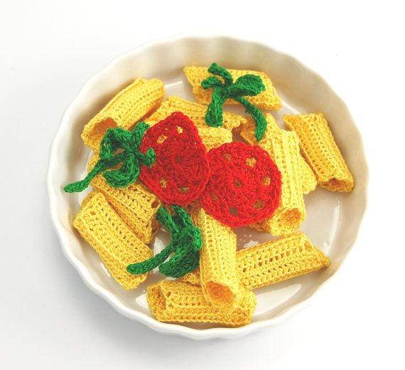 A slice of Tomato for your crocheted food