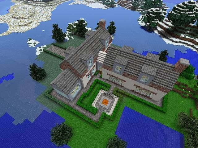 Minecraft gaming xbox xbox360 house #home creative mode mojang barn modern house home bungalow