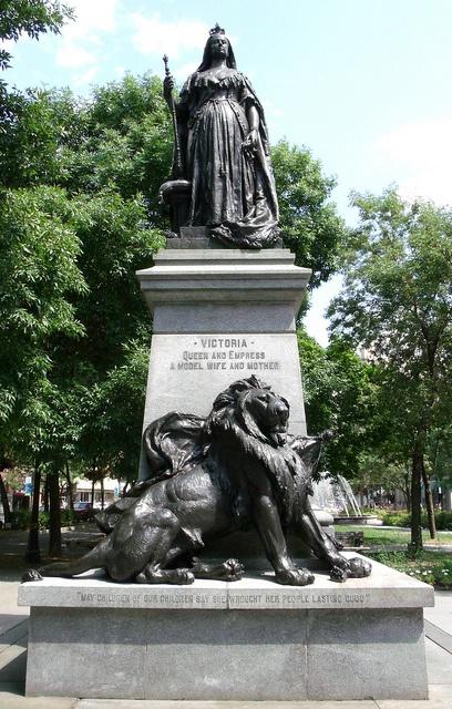 Queen Victoria, Gore Park (downtown Hamilton)