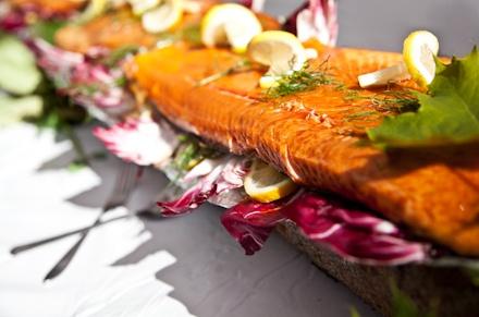 Warm Smoked Salmon Swedish style