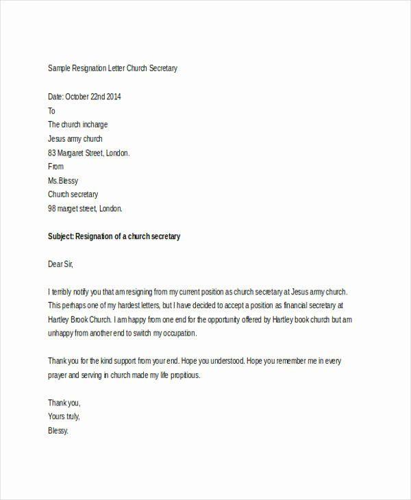 Resignation Letter Volunteer Organization from i.pinimg.com