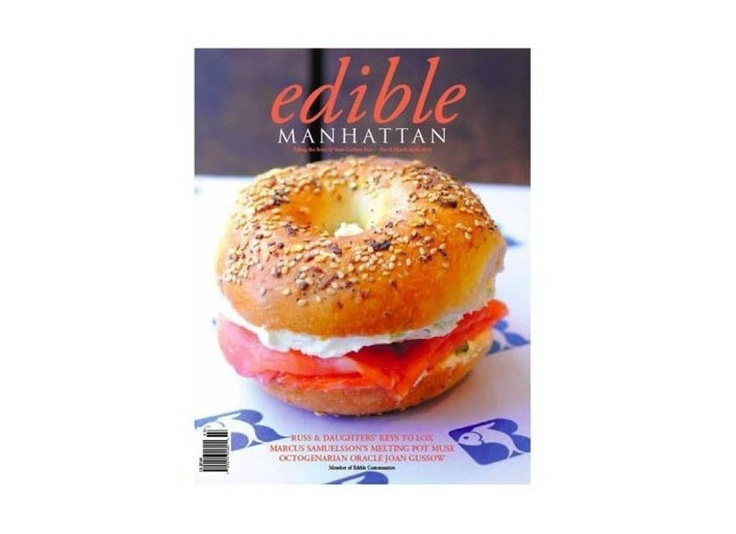 Edible magazine is not exactly one magazine. It exists in a variety of cities and regions throughout the U.S. and Canada -- there's everything from Edible Manhattan to Edible Hawaiian Islands. Each local edition focuses on the food community of its region. From discussions of iconic dishes to what's in season, if you care about food in your area, this is the magazine to read. Plus, it's free!