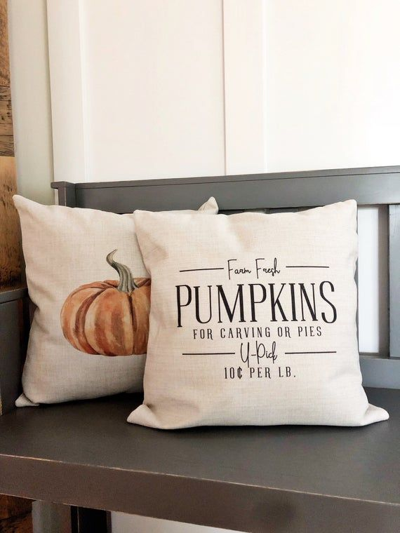 etsy fall pillow covers online