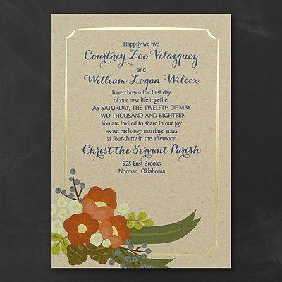 Best Wedding  Invitations Images On   Invitations