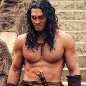 Jason Momoa from the new Conan the Barbarian. Wasn't crazy about the movie - but OOOH! Loved watching him!