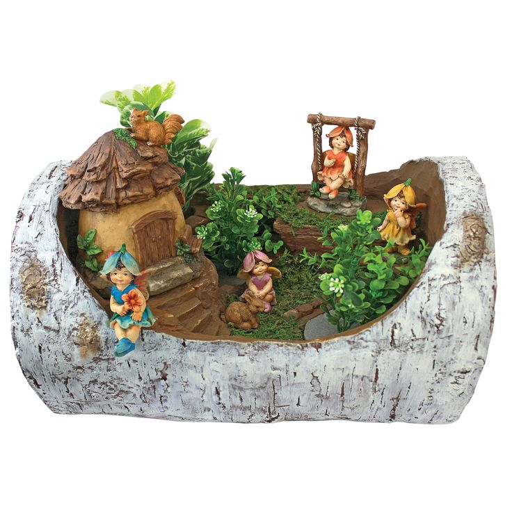 Design Toscano Tiny Forest Friends Fairy Garden Statue
