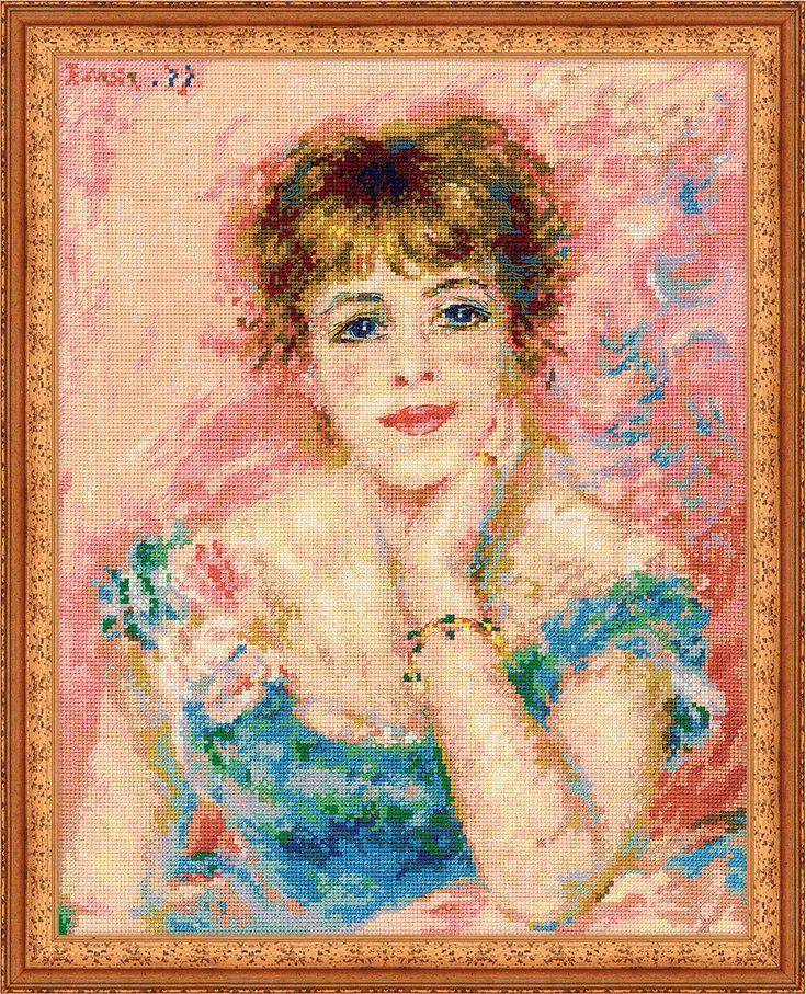 Вышивка картин импрессионистов