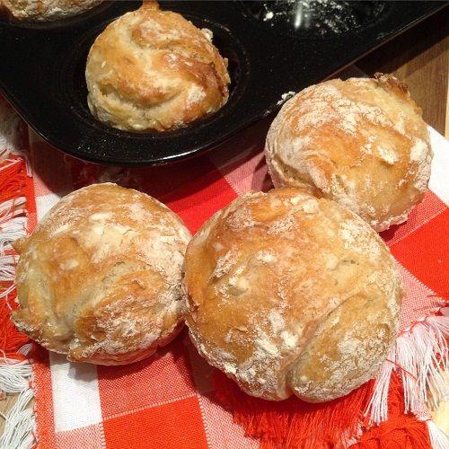 Super leckere Brötchen in einer Muffinform - das kann sogar ich