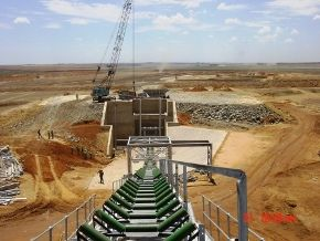 Some of the Civil Engineering work we did on the Klipspruit Colliery for BECSA (BHP Billiton)