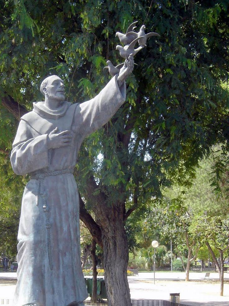 17 Best Images About St Francis Of Assisi Sculptures On Pinterest Statue Of Patron Saints