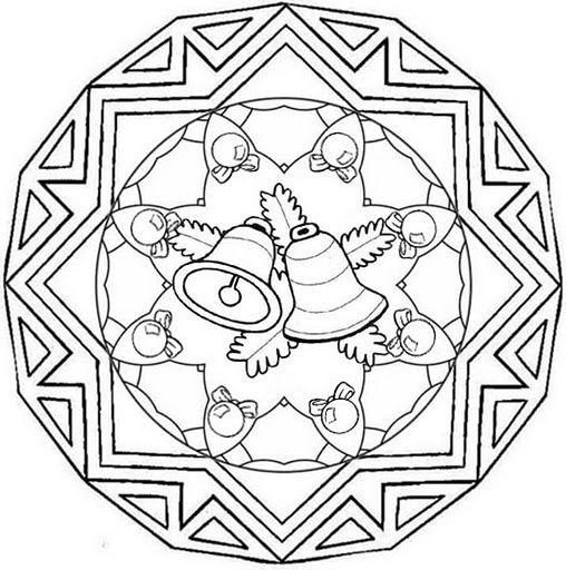 Parroquia La Inmaculada: Recursos Adviento y Navidad: 13 Mandalas para colorear