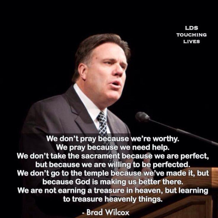 Brad Wilcox quote