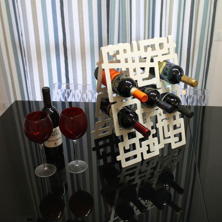 Portabottiglie di vino - Wine bottles racks. nikla.eu