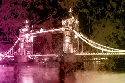 Digital-Art Tower Bridge by Night II