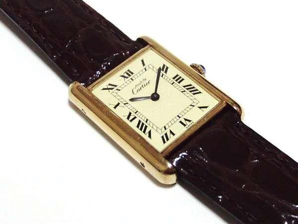 アンテーク時計専門店 アンテークウォッチマン カルティエ マストタンク LM メンズサイズ 1970年代の希少手巻き コンディション良好モデル 新品ベルト装着 79,000 円 → 65,000円(18%OFF)