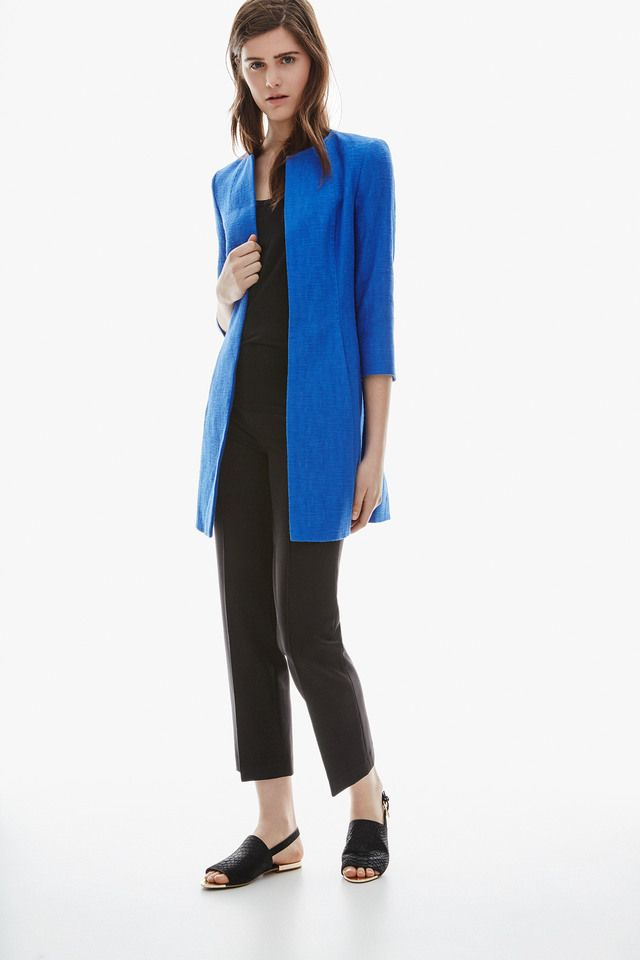 Adolfo dominguez cotton car coat fashion with a for Adolfo dominguez womens coats