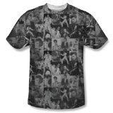 """Elvis Presley T-Shirt Taking Care Of Business (3XL)   50% Cotton / 50% Polyester Dye Sublimated Print Each Tee is Unique Made by Trevco  Stunning sublimated Elvis """"Taking Care of Business"""" T-Shirt. From the manufacturer: The dye sublimation printing process creates slight..."""