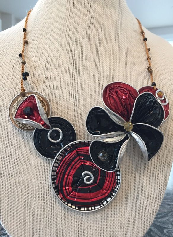 Nespresso flower necklace