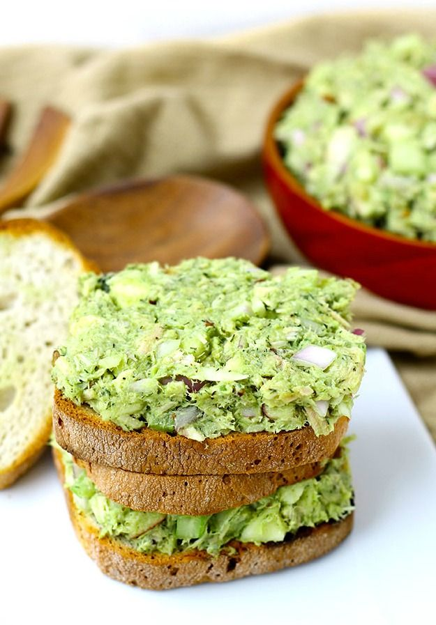 Recipe For Avocado Tuna Salad - This avocado tuna salad is made at least once a week in my home. I love it, everyone loves it, it's delicious and easy and CHEAP.
