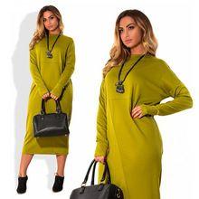 С длинным Рукавом Плюс Размер Свободной Женщины Вскользь Офис Платья 5XL Большой размер Длинные Bodycon Платье Красный Желтый 6XL Большой Размер Женщин Платье