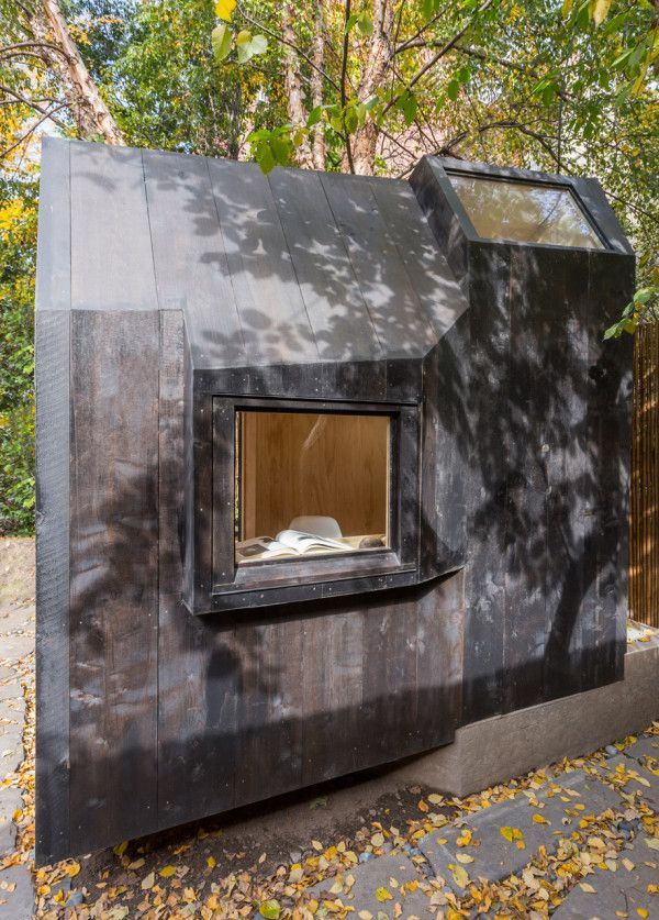 Writing Pavilion by Architensions / The Green Life <3