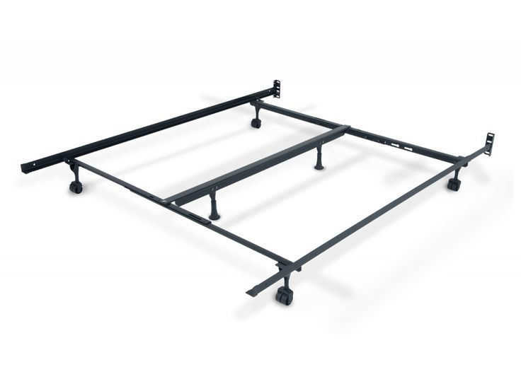 queenking bed frame with casters bed frames u0026 rails mattresses etc