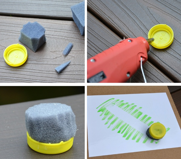 how to make your own eraser. I will def. make these.