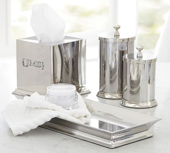 Mercer Bath Accessories | Pottery Barn