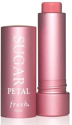 Fresh Sugar Lip Treatment in Petal. Beat the Winter chill by stocking up on these beautiful tinted lip balms!