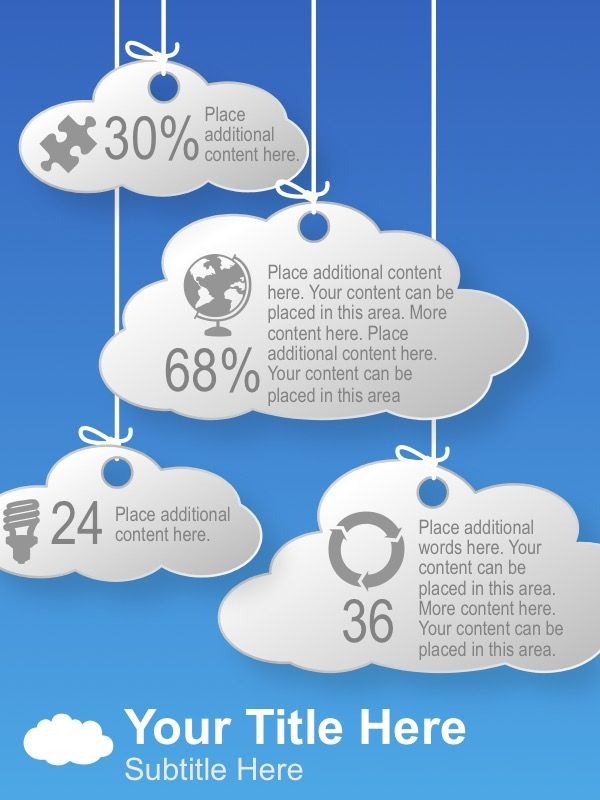 8 best multiple process outputs images on pinterest business use this fully editable powerpoint infographic to showcase interconnected information and compare element percentages that are stored in the cloud toneelgroepblik Gallery