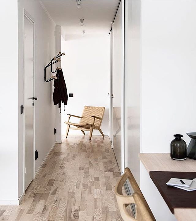 Carefully selected materials and designs in the projects of @bloocstockholm ✨ Our clothes hanger Bill is spotted in this shot! #mazeinterior #bill #hanger #hook #slowproduction #coathanger #blooc #bloocstockholm #ikea #scandinavian #scandinaviandesign #design #designandarchitecture #archeticture #madeinsweden