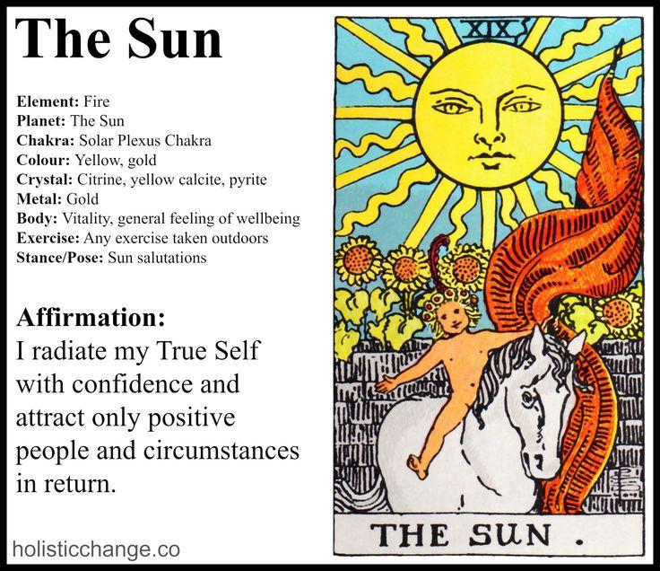 Holistic Correspondences for The Sun Tarot Card