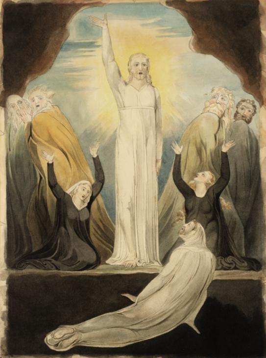 William Blake, The Raising of Lazarus (1914), Tate, London