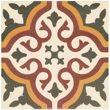 Abbey Whitby Floor Tile, £72.17/m2 or £2.89 per tile, 20cm x 20cm