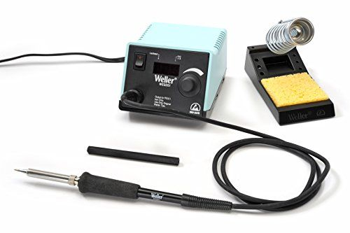 Weller WESD51 Digital Soldering Station. Temperature setting can be locked to prevent unwanted changes. Iron Is Fitted With A Flame-resistant Silicon Rubber Cord For Safety. Station includes WESD51PU power unit, PES51 soldering pencil, ETA tip and PH50 stand with sponge. Tip Temperature Offset Capability. Ul & Cul Listed, Esd Safe To Protect Sensitive Components. Digital LED display provides temperature setting and actual tip temperature readout in degrees F or C.