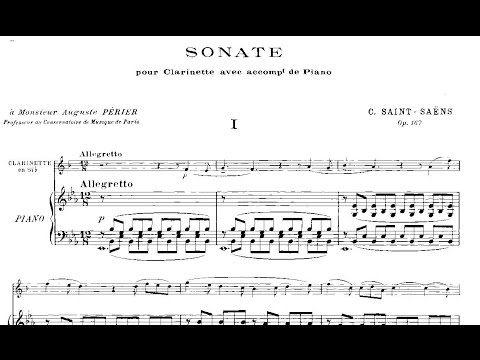 Saint-Saëns/Clarinet Sonata