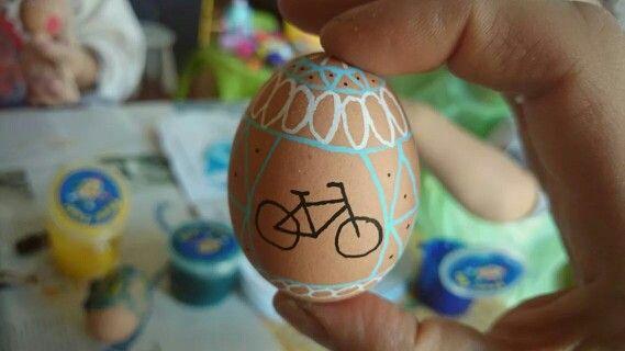 Wielkanocna pisanka w stylu One More Bike / Easter Egg One More Bike style!