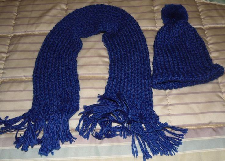 Sciarpa e cappello bambino di Le Creazioni di Manola su DaWanda.com
