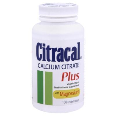 Citracal Plus Calcium Citrate, 150 tablets