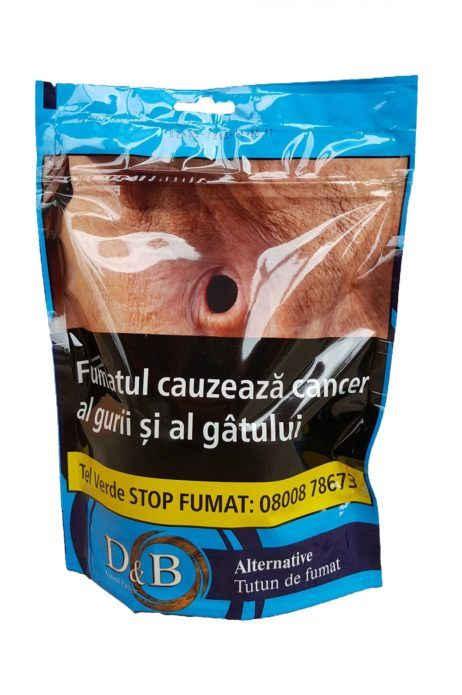 TUTUN DE FUMAT D&B ALTERNATIVE - 100 GR Comenzi pe www.tuburipentrutigari.ro