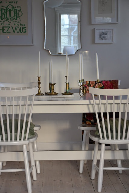 Dining room, Lilla Åland chairs