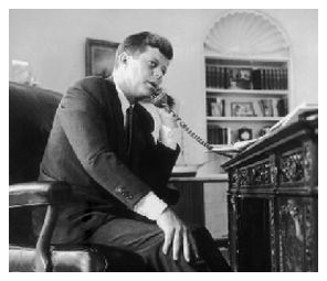 "JFK appeals to Mississippi Governor, Ross Barnett. 1962. It was a high-stakes showdown between President Kennedy and Mississippi Gov. Ross Barnett. ""I'm a Mississippi segregationist and I am proud of it,"" the governor declared. Publicly, Barnett promised to block Meredith from the campus in Oxford, despite a federal court order. Privately, he was on the phone trying to strike a compromise with Kennedy."