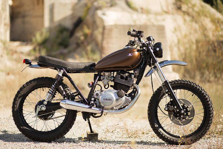 Yamaha SR250 by Retro Bikes Croatia