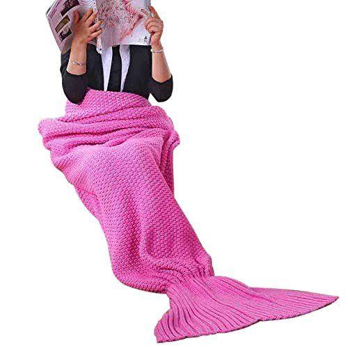 RGTOPONE Filles crochet souple Couverture de sirène fait main chaud toutes les saisons queue de poisson Drap-housse Se blottir dans son lit Canapé de costume pour les adultes, Aimer dormir et ne sera pas attraper froid - Rose #RGTOPONE #Filles #crochet #souple #Couverture #sirène #fait #main #chaud #toutes #saisons #queue #poisson #Drap #housse #blottir #dans #Canapé #costume #pour #adultes, #Aimer #dormir #sera #attraper #froid #Rose