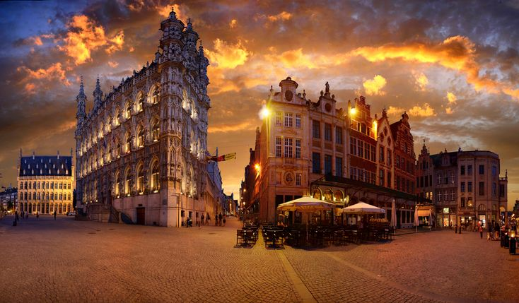 Leuven, Belgium. If I could go anywhere I would go here again. And again. And again.