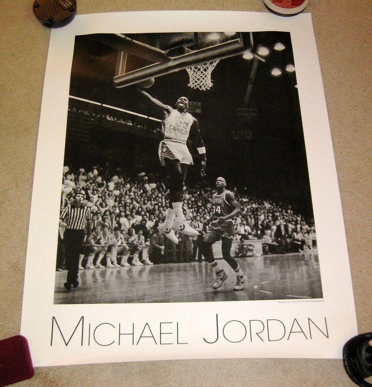 Michael Jordan Carolina 1984 Len Bias Maryland Terps