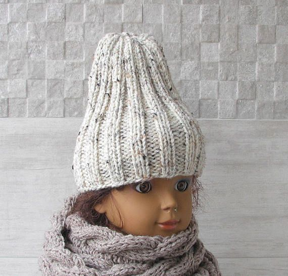 Hipster Fashion Hand Knitted Hat for kids Slouchy Hat Boys