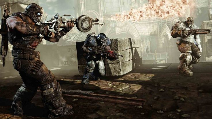 Gears of War Ultimate Edition #GearsofWarUltimateEdition #XboxOne #GearsOfWar #PC