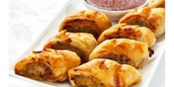Chicken and Vegetable Sausage Rolls | Stay at Home Mum