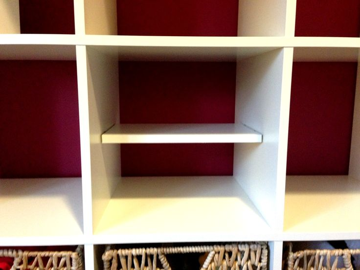 Bookends That Will Slide Onto Expedit Shelving